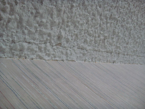 Why is this drywall mud cracking?-mudroom.jpg