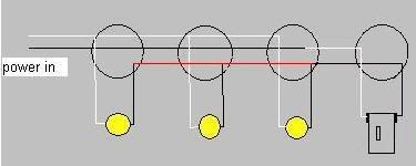 One switch diagram multiple lights wiring diagram database wiring one switch diagram multiple lights on wiring diagram wiring multiple fixtures one switch diagram multiple lights swarovskicordoba Gallery