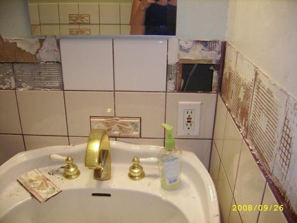 Bathroom Tile Disaster Building Amp Construction Diy
