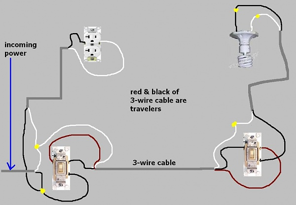 single pole switch with 6 wires  want 3 way switch