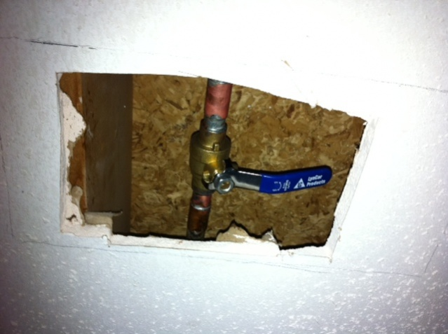 Shut Off Valve For Outdoor Spigot - Plumbing - DIY Home Improvement ...