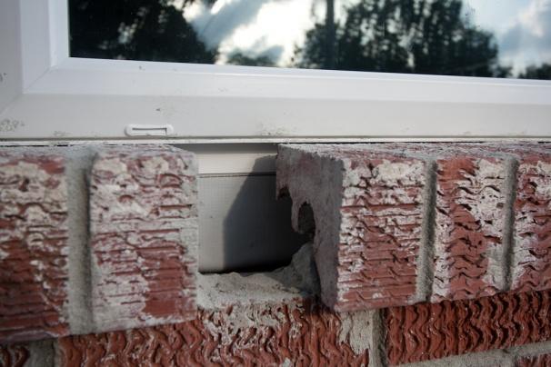 Caulking Vinyl Windows In Brick Windows And Doors Diy
