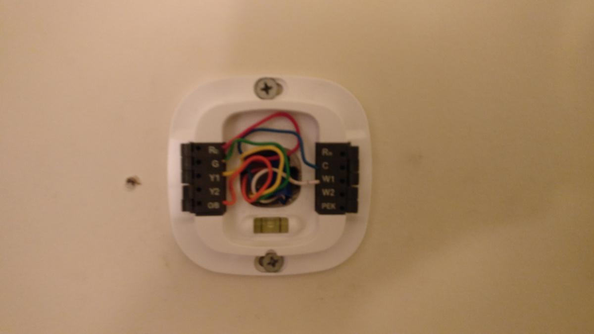 Thermostat Wiring Question Hvac Diy Chatroom Home Improvement Forum Ecobee Smart Installation New