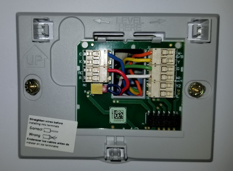 honeywell rth9580wf thermostat install questions hvac. Black Bedroom Furniture Sets. Home Design Ideas