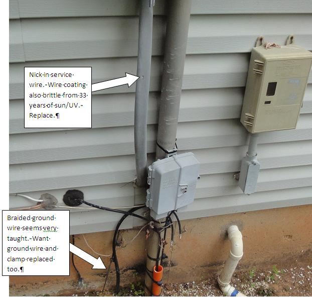 """Best Way To Run 2"""" Conduit From Meter To New Exterior"""