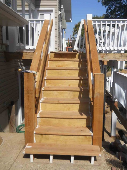 Increase Deck Footing Thickness Building Amp Construction