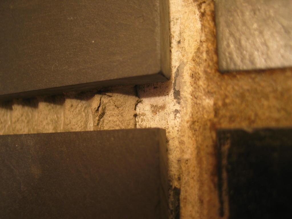 Using Concrete As Grout For Slate Floor Flooring Diy