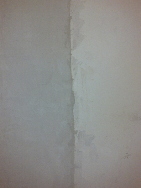 should i tape old and new plaster boundry-new_old_plaster.jpg