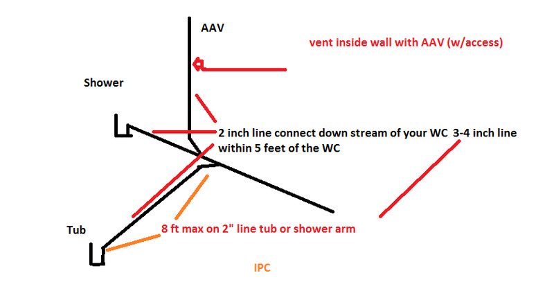 Venting drain for shower and bath-newer-2-shower-iso.jpg
