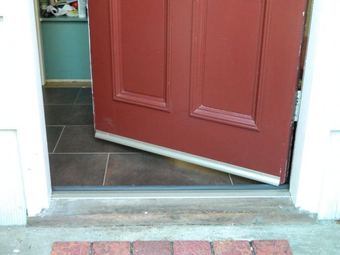 Waterproofing Under Threshold Windows And Doors Diy
