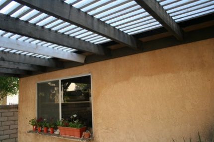 Beau ... Patio Cover Materials And Methods No Ceiling