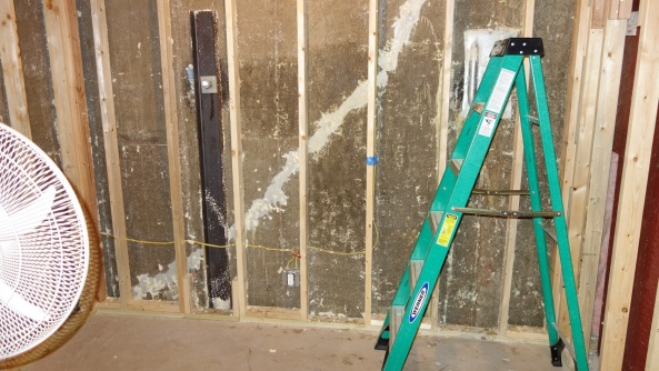 What to do for Spray Foam Smell?-northwall.bad.cleanup_01.jpg