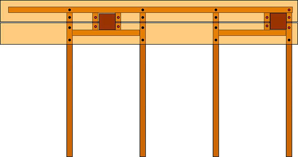 Deck Railing Post Installation Building