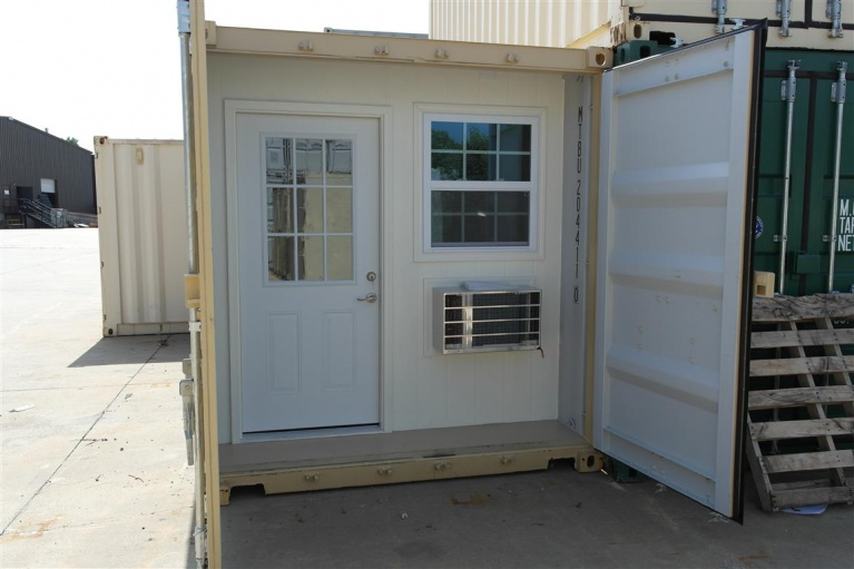 Shipping container cabin office building amp construction diy