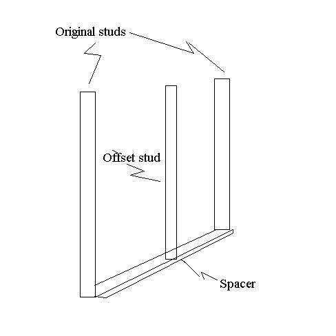 Furring Out A 2x4 Wall To A 2x6 Wall - Building & Construction - DIY ...