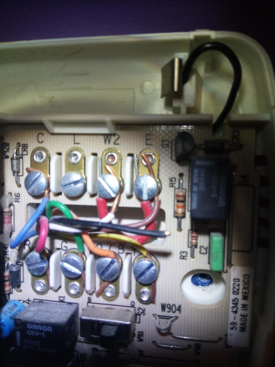 White Rodgers Thermostat Replacement - Electrical