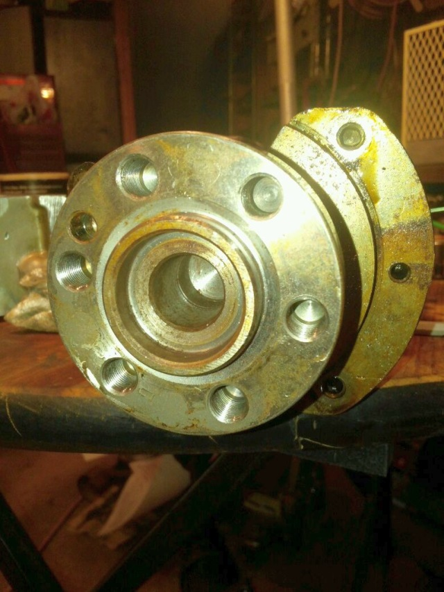 Putting Engine Back In-old-crank.jpg