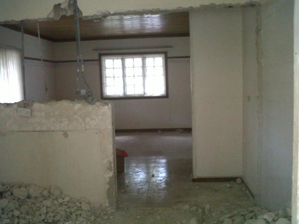Jamaican DIY home reno-old-kitchen-view-into-new.jpg