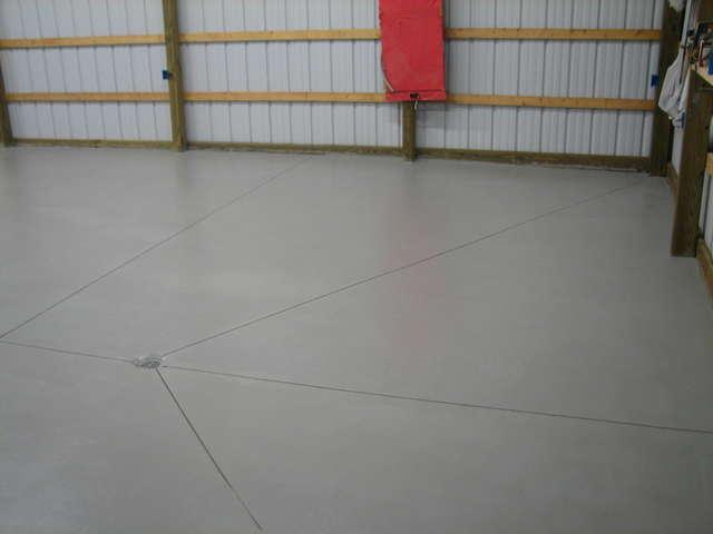 Concrete Slab Pour   35 Yards Oldbarncement4