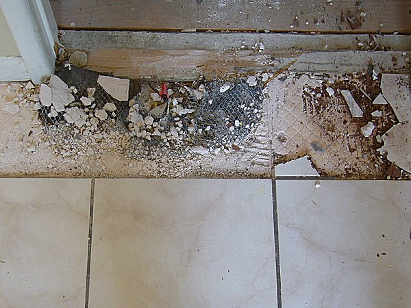 Remove Ceramic Tile And Quickset Flooring DIY Chatroom Home