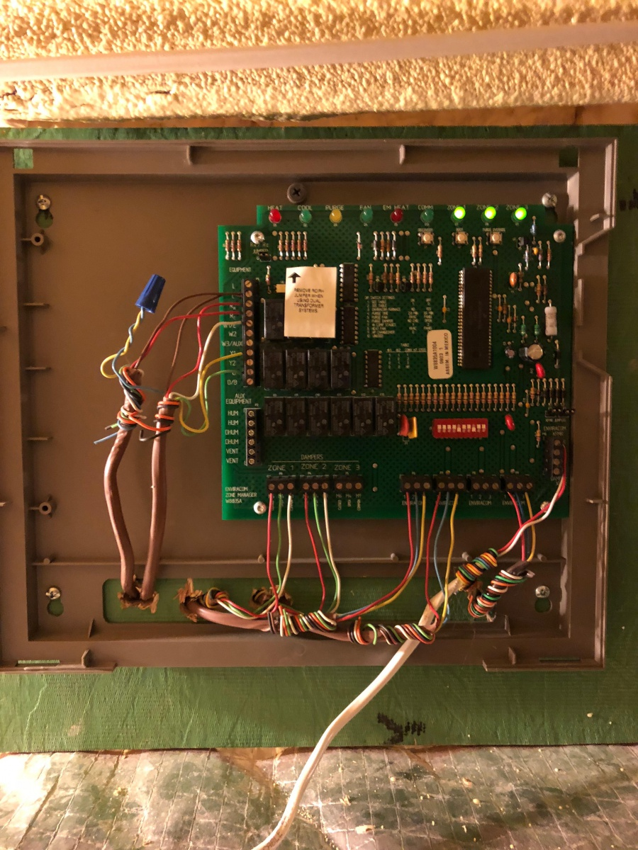 Replace Honeywell W8835A With HZ311 - HVAC - DIY Chatroom