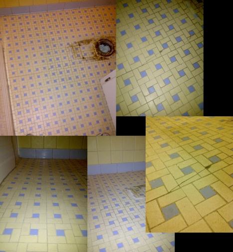 Old Bathroom Tile Floor What To Do, Old Bathroom Tile