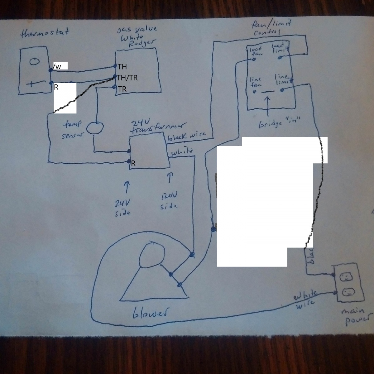 need help rewiring blower fan on gas furnace (weird) - hvac - page 2 - diy  chatroom home improvement forum  diy chatroom