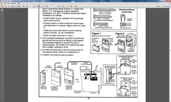 Craftsman Garage Door Opener Wiring Diagram Explained Diagramcraftsman
