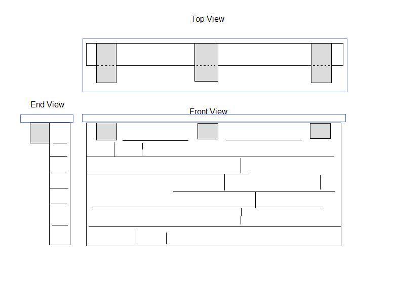 Granite Counter Top Overhang Outdoor Bar Support