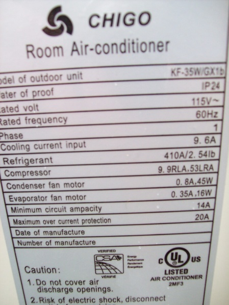 chigo ductless air conditioner compressor wiring diagram can t get unit to turn on need electrical help please wiring  unit to turn on need electrical