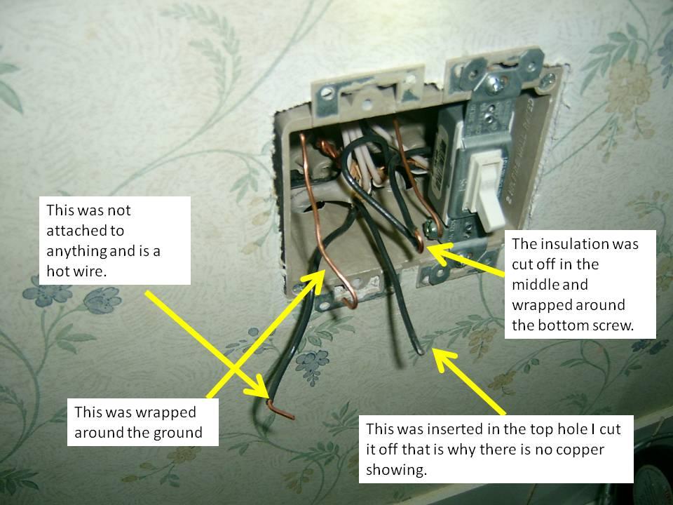 Wiring A New Light Switch But Problems Diy Home Improvement Forum