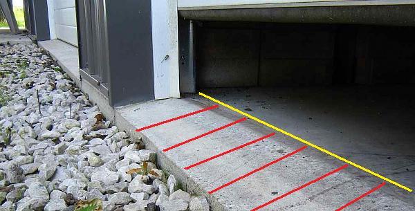 Water Under Garage Door Building Amp Construction Page 2