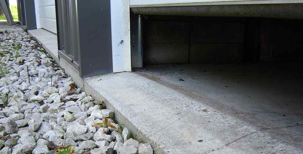 Water Under Garage Door-outside-door-open.jpg