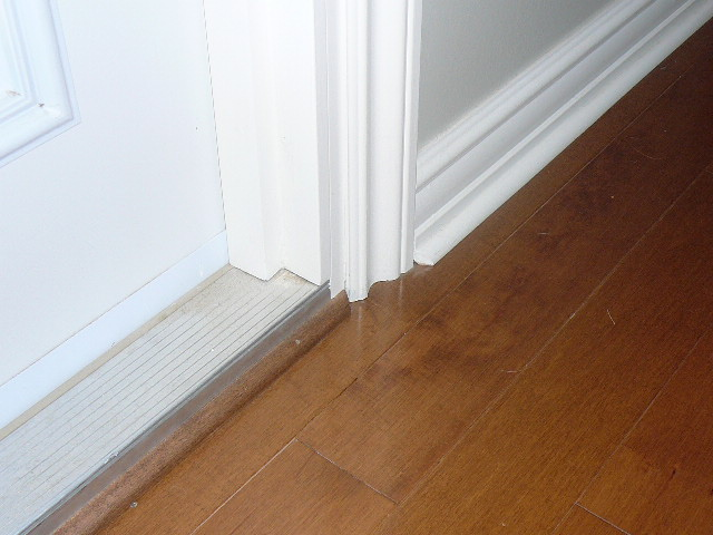 Laminate Flooring Around Doorways