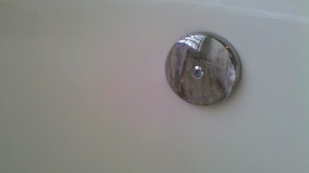 Picture of: Overflow Drain Stained Black Normal Diy Home Improvement Forum