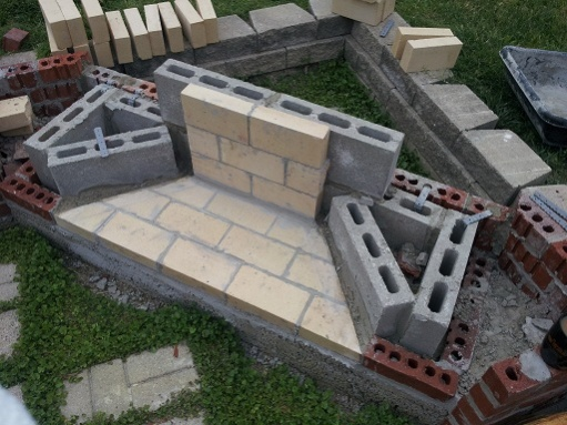 Backyard Fireplace Diy : An Outdoor Fireplace, Here We Go  Project Showcase  Page 3  DIY