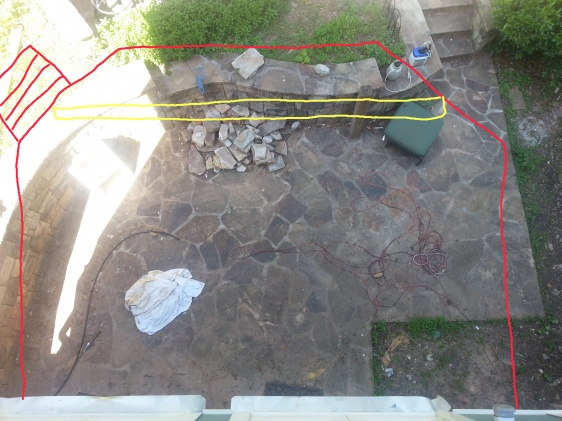 Deck design ideas for strange shape sunken patio-overlay.jpg
