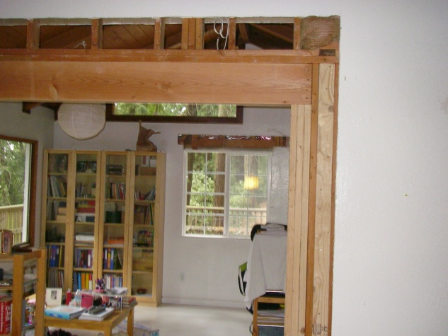 support vaulted ceiling while enlarging doorway-p1.jpg