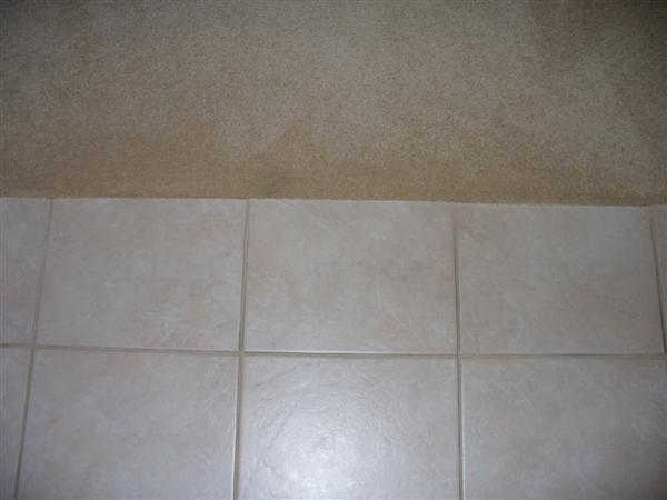 Joining Carpet And Ceramic Tile Rooms Flooring Diy