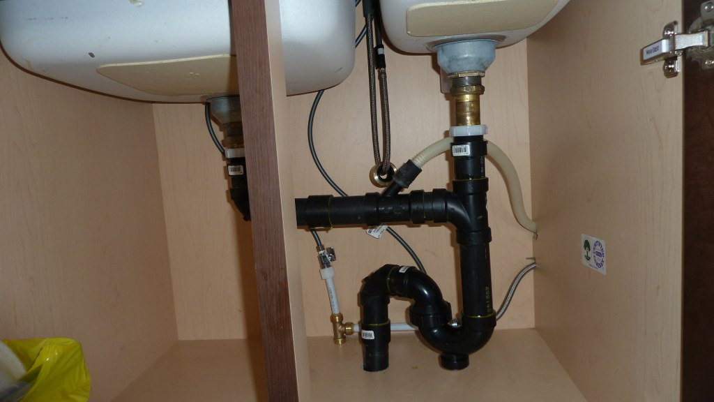 ... DIY Kitchen Island Plumbing Question P1000958 ...