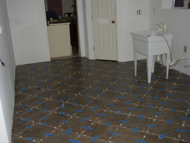 Replacing A Tile With Ditra Flooring DIY Chatroom Home Improvement