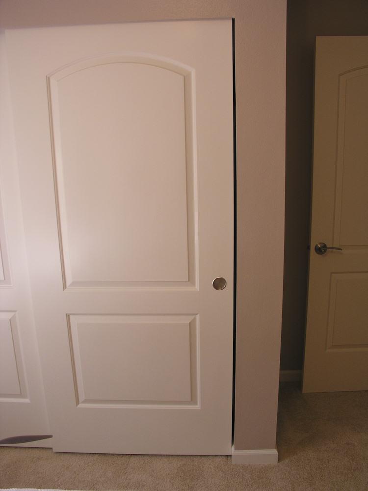 Trim Around Sliding Closet Doors Sliding Door Designs