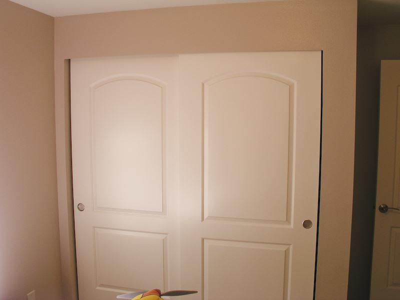 Sliding Closet Doors Amp Base Trim Carpentry Diy