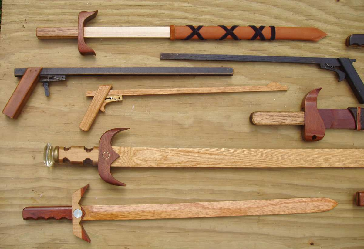 My Homemade Gun, Dagger And Sword Collection - Project ...
