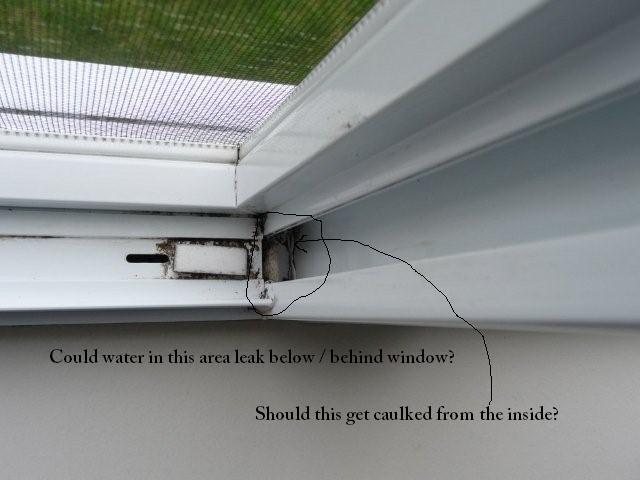 Leaking Vinyl Windows In 7 Year Old Home P1010172 Jpg