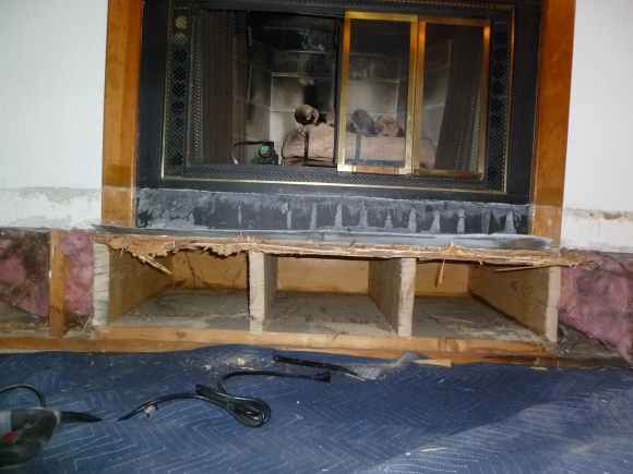 looking for expert advice for adding insulation under a gas rh diychatroom com gas fireplace installation parts gas fireplace installation clearances