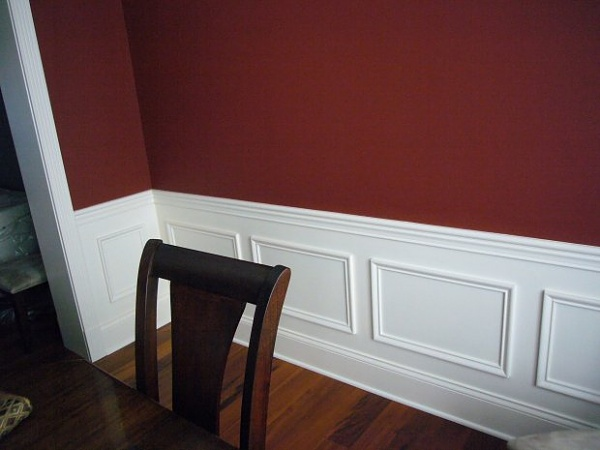 New Wall Frames Wainscoting #LI98 – Roccommunity Wainscoting Using Picture Frames on wallpaper frames, furniture frames, home frames, bathroom frames, elevator frames,