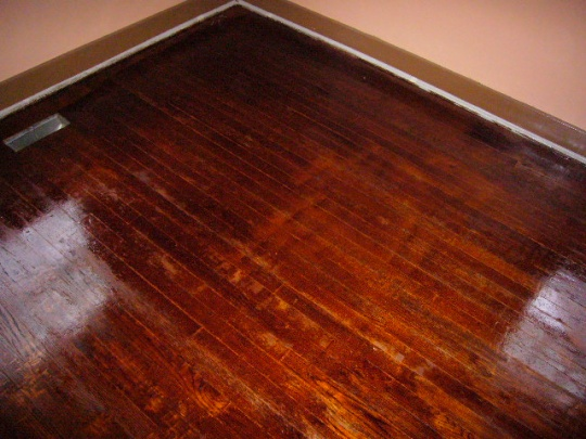 Refinishing hardwood floors (oak) - damage control!-p1080542.jpg