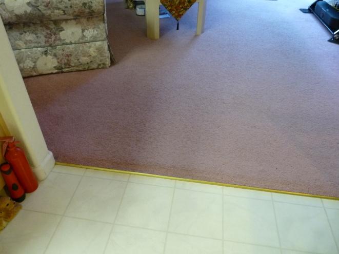 tile to linoleum to tile tiling ceramics marble diy chatroom home improvement forum. Black Bedroom Furniture Sets. Home Design Ideas