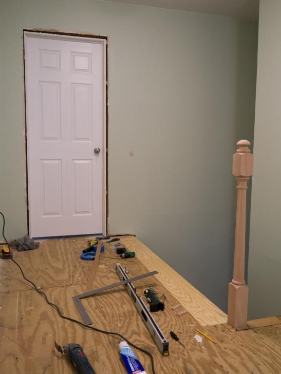 Replacing Newel Post P1130085 Jpg